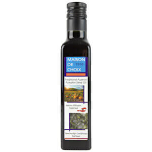 Picture of styrian pumpkin seed oil