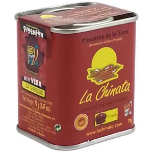 Picture of sweet smoked spanish paprika