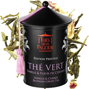 Picture of vanilla and cherry blossom green tea