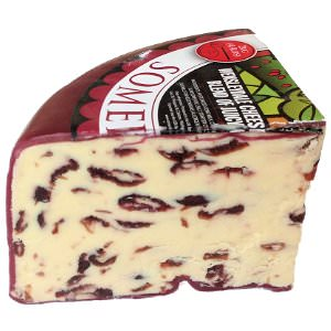 Picture of wensleydale with cranberries