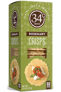 Picture of 34 degrees rosemary crisps