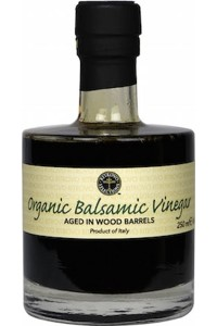 Picture of aged organic balsamic vinegar
