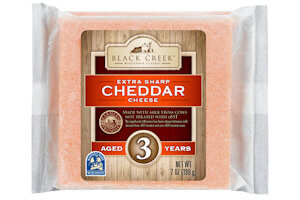 Picture of black creek 3 year aged cheddar cheese