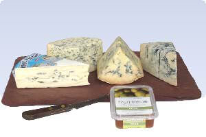 Picture of blue cheese board favorites