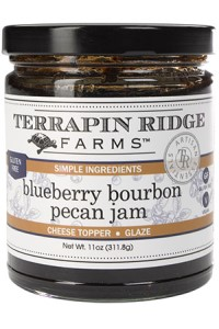 Picture of blueberry bourbon pecan jam