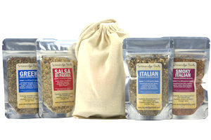 Picture of bread dipping blend collection