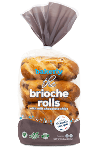 Picture of brioche rolls with chocolate chips