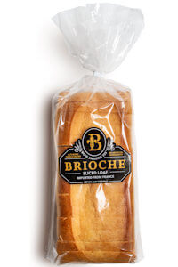 Picture of brioche sliced loaf