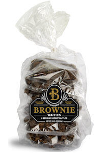Picture of brownie waffles