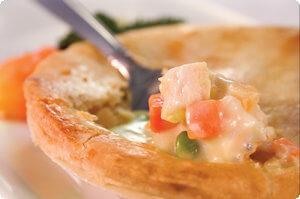 Picture of chicken pot pie