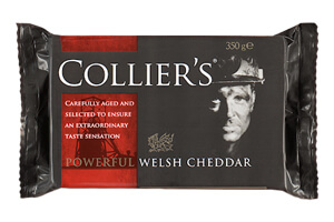 Picture of collier's powerful cheddar cheese