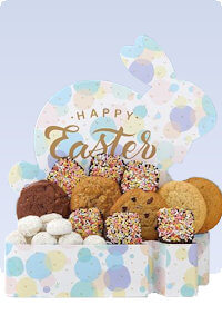 Picture of cookies and brownies for easter