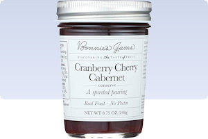 Picture of cranberry cherry cabernet conserve