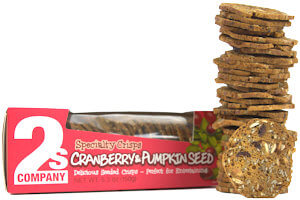 Picture of cranberry pumpkin seed crisps