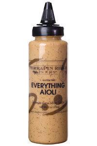 Picture of everything aioli garnishing sauce
