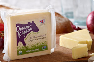 Picture of extra mature organic cheddar