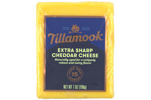 Picture of extra sharp cheddar cheese