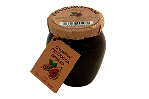 Picture of fig cocoa spread