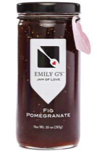 Picture of fig pomegranate jam