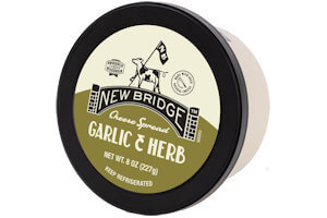 Picture of garlic & herbs cheese spread