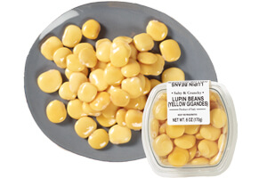 Picture of yellow gigandes lupin beans