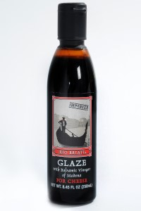 Picture of glaze with balsamic vinegar of modena