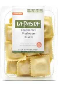 Picture of gluten free mushroom ravioli