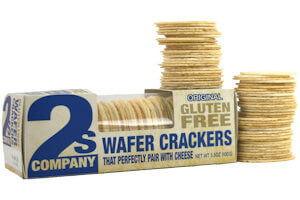 Picture of gluten free wafer crackers