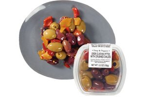 Picture of greek olive mix with chiles