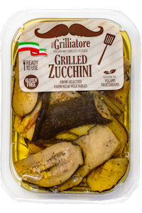Picture of grilled zucchini