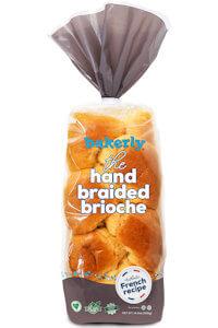 Picture of hand braided brioche