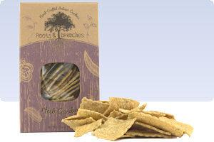 Picture of herb garden crackers