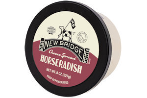 Picture of horseradish cheese spread