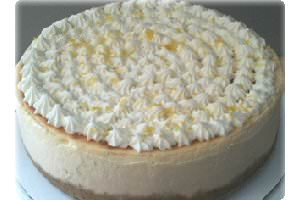 Picture of lemon cheesecake