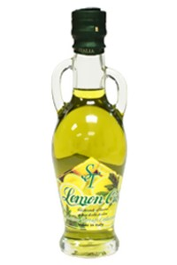 Picture of lemon infused olive oil