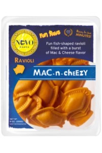 Picture of mac n cheezy ravioli
