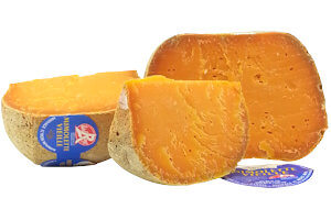 Picture of mimolette 12 months