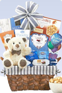 Picture of missing you gift basket