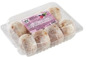 Picture of mixed berry mini beignets