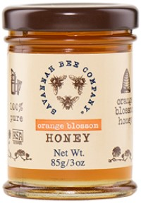 Picture of orange blossom honey