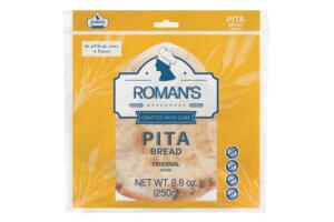 Picture of original pita bread