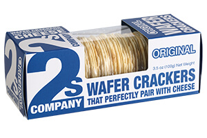 Picture of original wafer crackers
