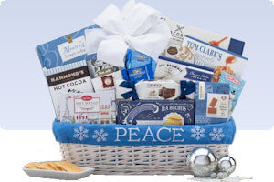 Picture of peace and joy gift basket