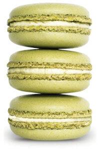 Picture of pistachio macarons