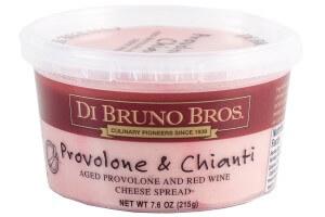 Picture of provolone and chianti cheese spread di bruno bros.