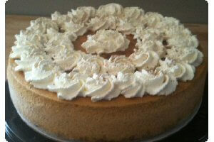 Picture of pumpkin cheesecake