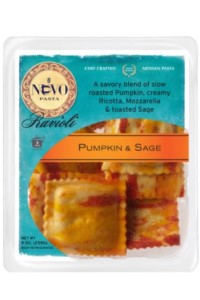 Picture of pumpkin & sage ravioli