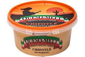 Picture of queso-melt cheese dip chipotle
