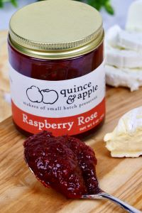 Picture of raspberry rose preserves