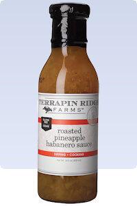 Picture of pineapple habanero sauce